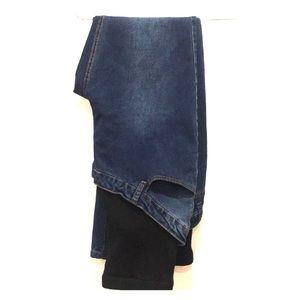Boohoo maternity jeans